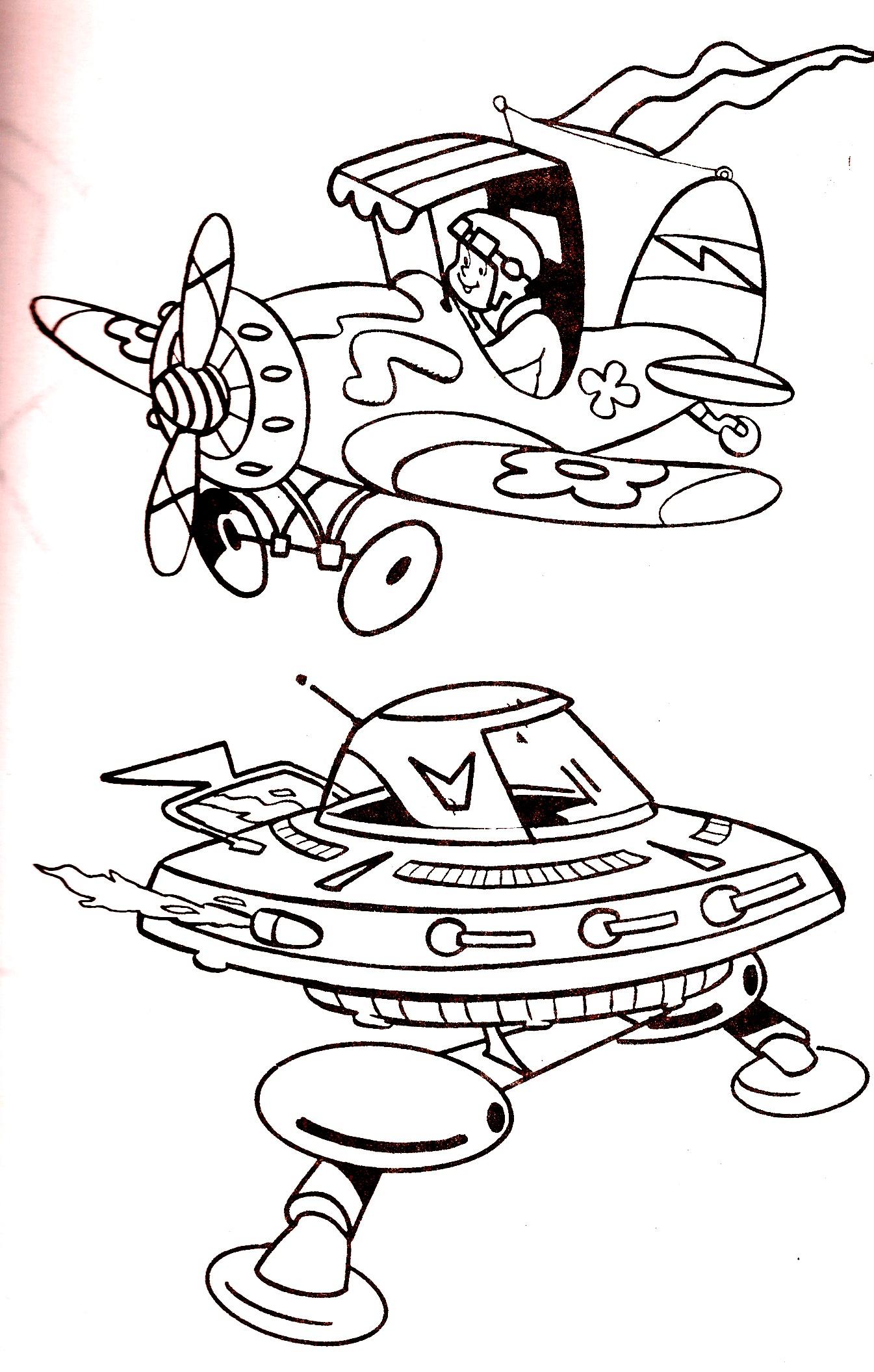 wacky races coloring pages - photo #47