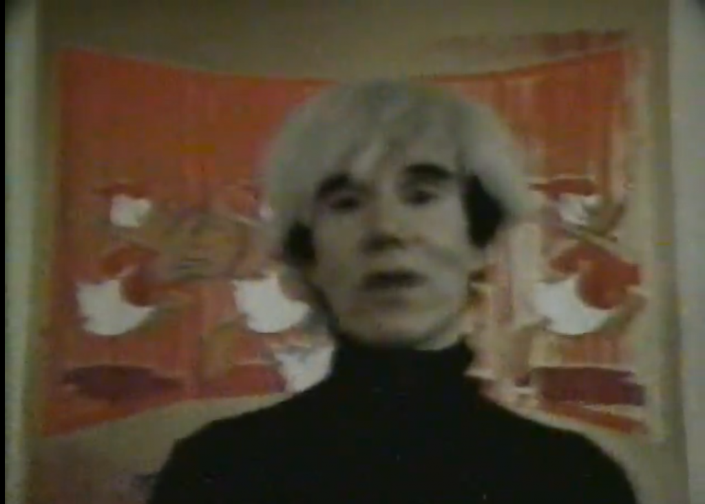 andy warhol + donald duck